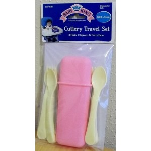 Baby King Cutlery Travel Blue by Baby King