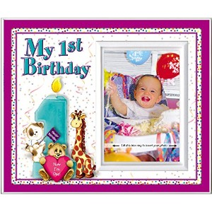 My First Birthday - Picture Frame Gift by Expressly Yours! Photo Expressions