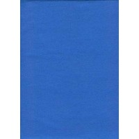 SheetWorld Fitted Pack N Play (Graco) Sheet - Royal Blue Woven - Made In USA by sheetworld