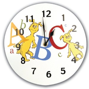 Trend Lab Dr. Seuss Wall Clock, ABC by Trend Lab