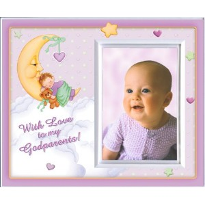 With Love to My Godparents (Girl) Picture Frame Gift by Expressly Yours! Photo Expressions