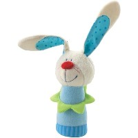 Haba Bunny Hugo Clutching figure by HABA