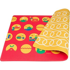 Lollaland Play Mat, Bold Red by Lollaland