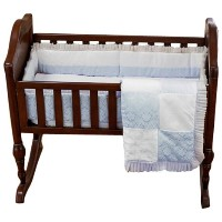 Baby Doll Bedding King Cradle Set, Blue by BabyDoll Bedding