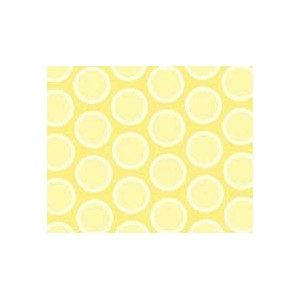 SheetWorld Fitted Pack N Play (Graco) Sheet - Pastel Yellow Bubbles Woven - Made In USA by...