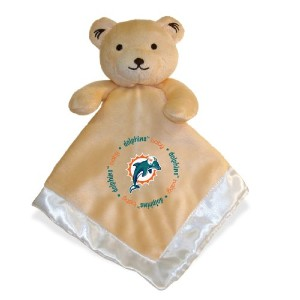 NFL Miami Dolphins Baby Fanatic Snuggle Bear by Baby Fanatic
