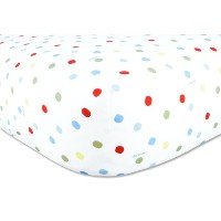 Trend Lab Dr. Seuss Fitted Crib Sheet, One Fish Two Fish by Trend Lab