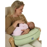 Leachco The Natural - Contoured Nursing Pillow Sage by Leachco