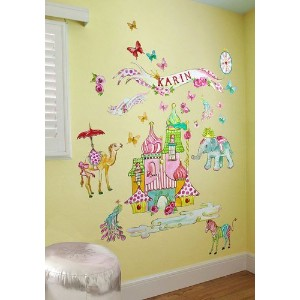 Oopsy Daisy Exotic Kingdom Peel and Place Wall Art, 54 by 60 by Oopsy Daisy