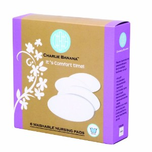 Charlie Banana Nursing Pads, White by Charlie Banana