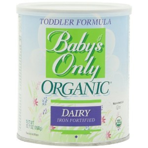 Baby's Only Organic Toddler Formula, 12.7 Ounce by Nature's One