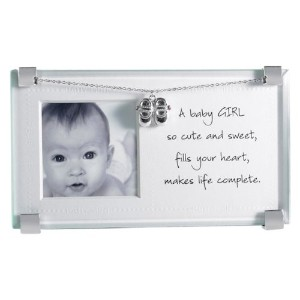 Mud Pie Picture Frame, Baby Girl by Mud Pie