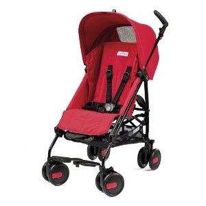 Peg-Perego Pliko Mini Stroller, Fire by Peg Perego