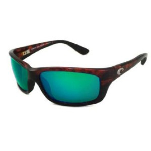 COSTA DEL MAR JOSE TORTOISE POLARIZED GREEN MIRROR 580G SUNGLASSES