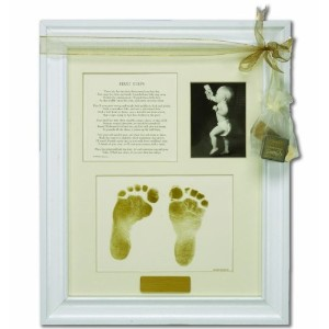 The Grandparent Gift Co. First Steps Keepsake Frame by The Grandparent Gift Co.