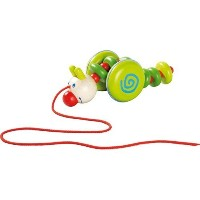 Caterpillar Rina Pull Toy by HABA