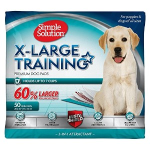 Bramton Simple Solution Training Pad for Extra Large Dogs Super Absorbent 50ct