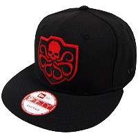 New Era Hydra Black Hail Hydra Snapback Cap 9fifty Limited Edition