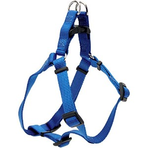 Coastal Pet Products DCP6445BLU Nylon Comfort Wrap Adjustable Dog Harness, 5/8-Inch, Blue by...
