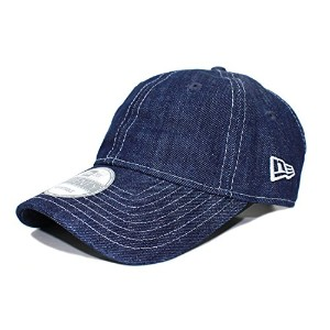 (ニューエラ)NEW ERA 【9TWENTY BASIC WASHED COTTON CONTRAST STITCH/INDIGO DENIM】ストラップバック ボールキャップ LOW...