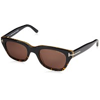 Tom Ford Snowdon TF 237 05B Black Sunglasses