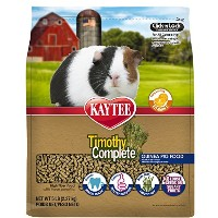 Kaytee Timothy Complete for Guinea Pigs, 5-Pound by Kaytee