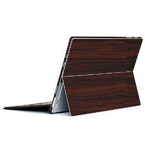 wraplus for Surface Pro / Pro 4 【ローズウッド】 スキンシール 側面 背面 カバー フィルム 保護 ケース