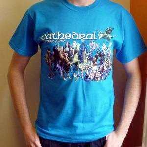 Cathedral - The Ethereal Mirror T-shirt - Size Medium