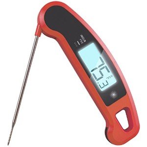 Lavatools Javelin PRO Duo Ambidextrous Backlit Instant Read Digital Meat Thermometer (Chipotle) by...