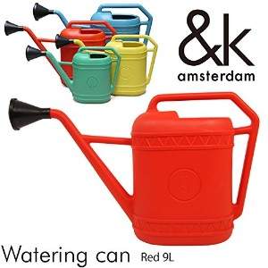 Watering can ウォータリングカン Red 9L