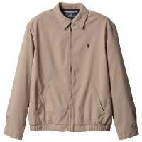 (ポロ・ラルフローレン)Polo Ralph Lauren 並行輸入 Blouson Bi-Swing Microfiber Windbreaker 7226382 Khaki Uniform XL