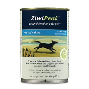 Ziwipeak Natural Balanced Diet Daily Dog Lamb Cuisine Recipe Food Meal Can 13z