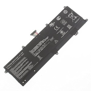 ノートパソコンのバッテリーC21-x202 for Asus Vivobook S200e X202e X201e C21x202 Laptop Built-in Battery(7.4v...