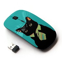 KOOLmouse [ ワイヤレスマウス 2.4Ghz無線光学式マウス ] [ Office Business Kitty Cat ]