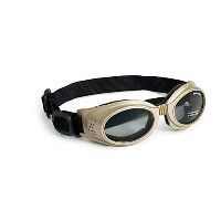 Doggles Originalz Medium Chrome Frame / Smoke Lenses by Doggles