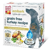 The Honest Kitchen Dehydrated Embark Grain Free Turkey Dry Pet Dog Food 4lbs