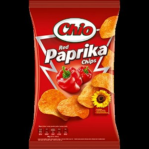 Chio 6x Chips Red Paprika 175 g - 6,17 oz - CHIO6Xチップス赤パプリカ175グラム - 6.17オンス