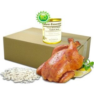 1 Can of Future Essentials Freeze Dried Cooked Diced Chicken by Future Essentials