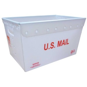 NEW U.S. POST BOX (U.S. RED)