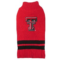 Texas Tech Pet Sweater SM
