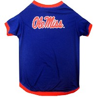 Mississippi Ole Miss Pet Shirt XS