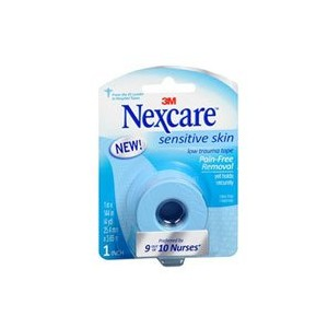 海外直送品Nexcare Nexcare Low Trauma Tape, Sensitive Skin 1 Each (Pack of 6)