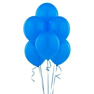 True Blue (Blue) Matte Balloons 風船♪ハロウィン♪クリスマス♪パーティーグッズ