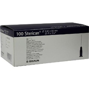 Sterican Special Cannulas 0.6 x 80 mm (100) by B.Braun