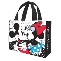Tote Bag - Disney - Mickey & Minnie Large Shopper New Licensed 89073