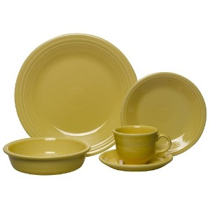 Fiesta 5-Piece Place Setting, Sunflower by Unknown