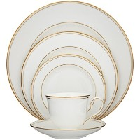 Lenox Federal Gold Bone China 5 Piece Place Setting by Lenox