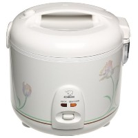 Zojirushi NSRNC-18A 10-Cup (Uncooked) Automatic Rice Cooker and Warmer with Floral Imprint by...