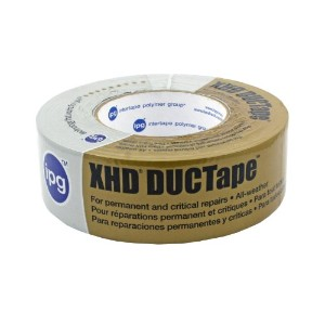 "Heavy-Duty Cloth Duct Tape-2""X60YD SILVER DUCT TAPE (並行輸入品)"
