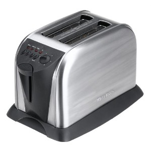 West Bend 2-Slice Toaster, Stainless Steel by Focus